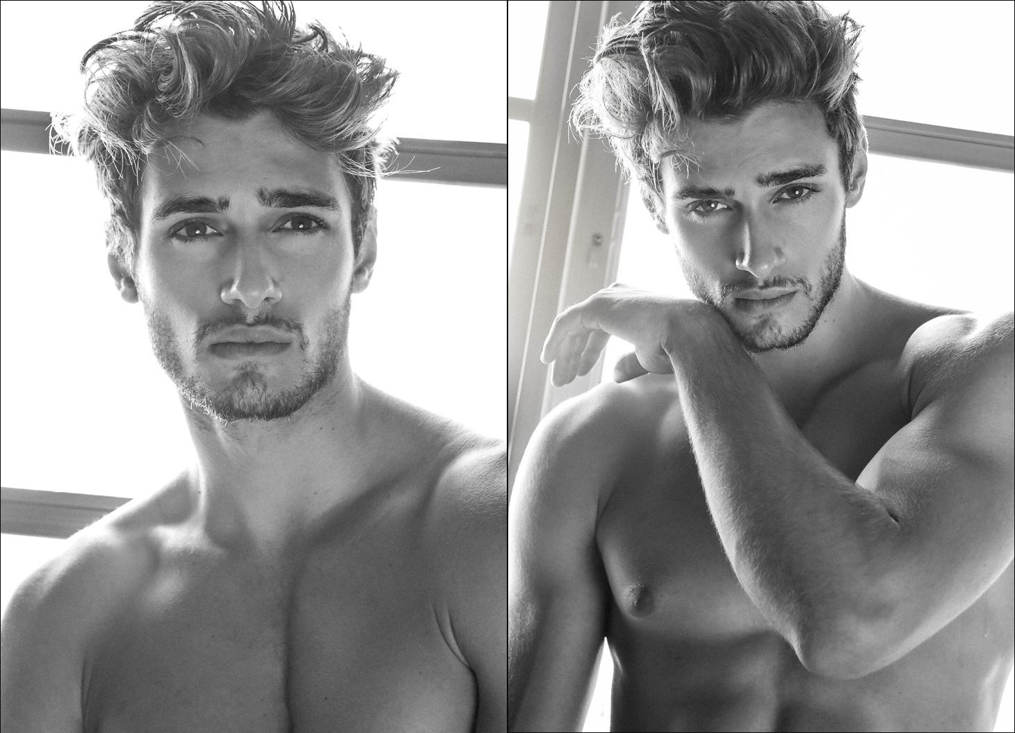 El modelo Daniel Bederov