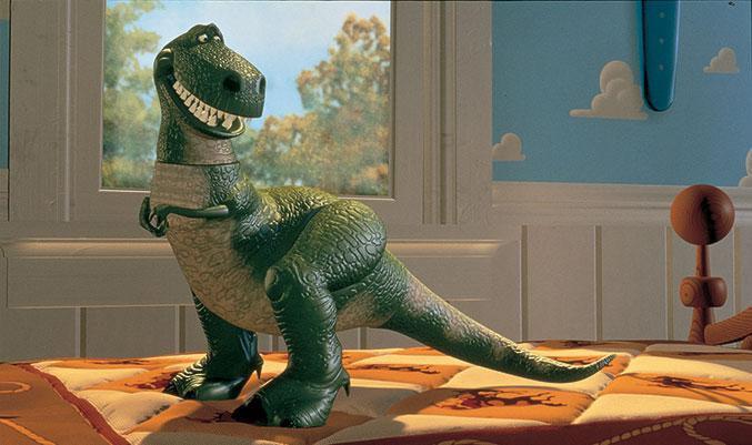 Una mujer se masturba con un dinosaurio de juguete y acaba en urgencias