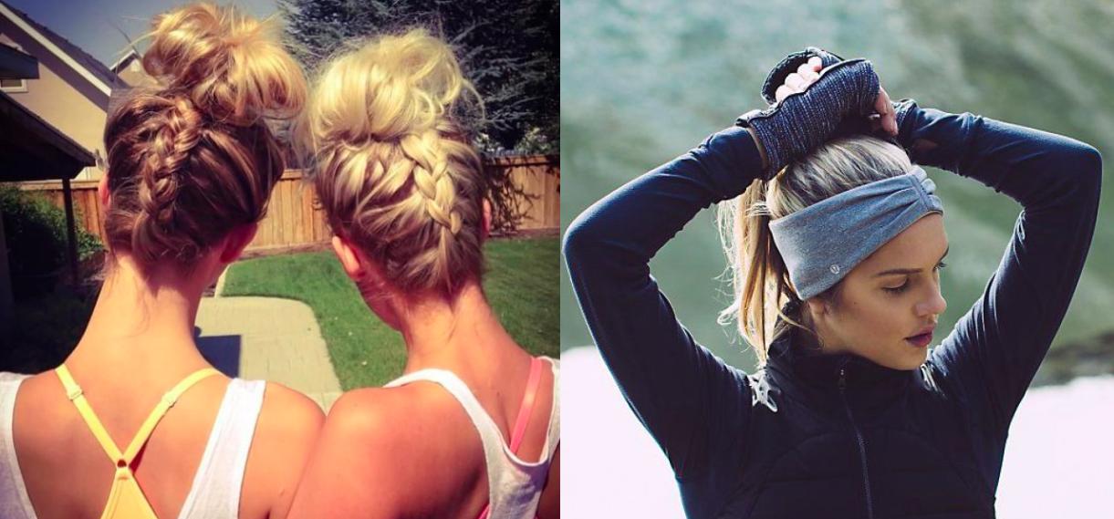 6 peinados perfectos para hacer deporte
