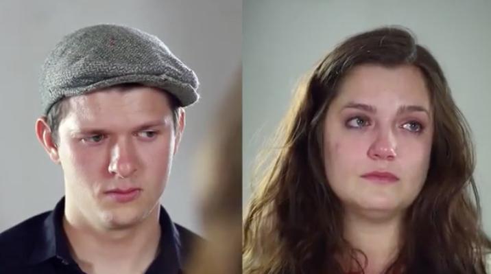 En este experimento, dos ex novios se hacen preguntas sobre su relación y este es el resultado