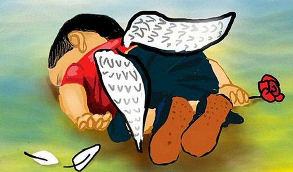Así homenajea internet a Aylan, el niño sirio muerto en la playa