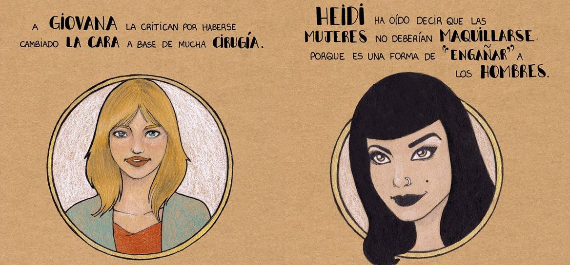 Estas ilustraciones con mensaje luchan contra los prejuicios y estereotipos sexistas