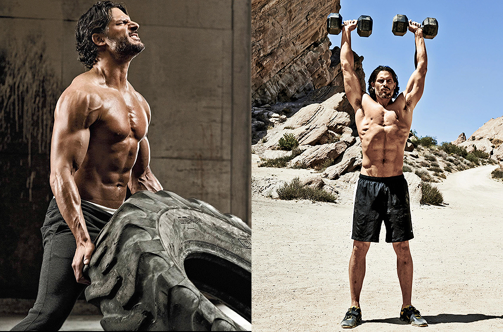 Joe Manganiello en  'Muscle & Fitness'