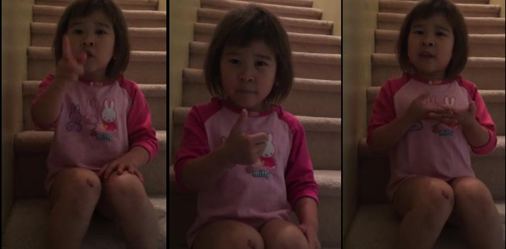 La niña de 6 años que pide a sus padres divorciados que sean amigos