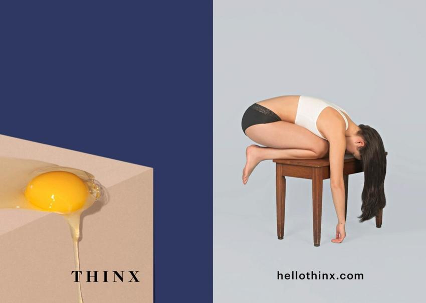 Nueva York censura esta campaña de ropa interior para la menstruación