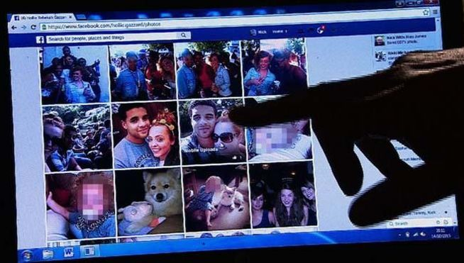 fotos facebook asesino