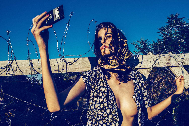 La polémica sesión de fotos de moda inspirada en los refugiados sirios