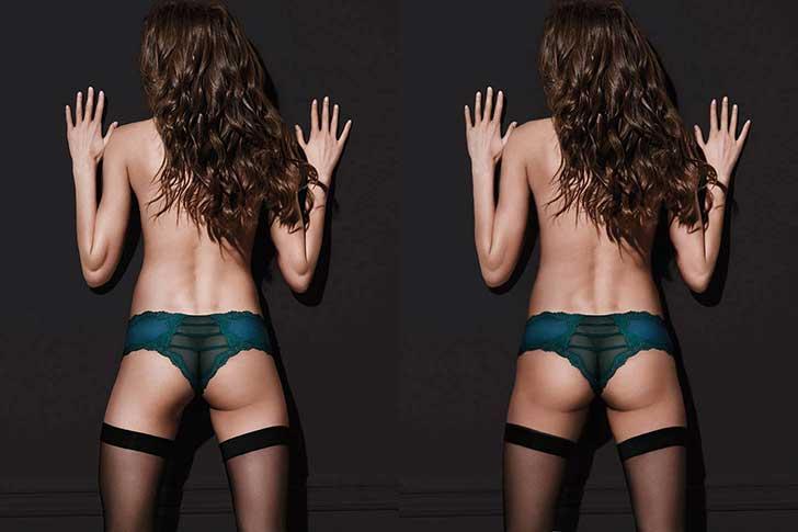 El exceso de Photoshop de esta modelo indigna a las redes