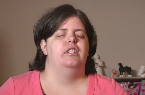 La mujer que soñaba con ser ciega