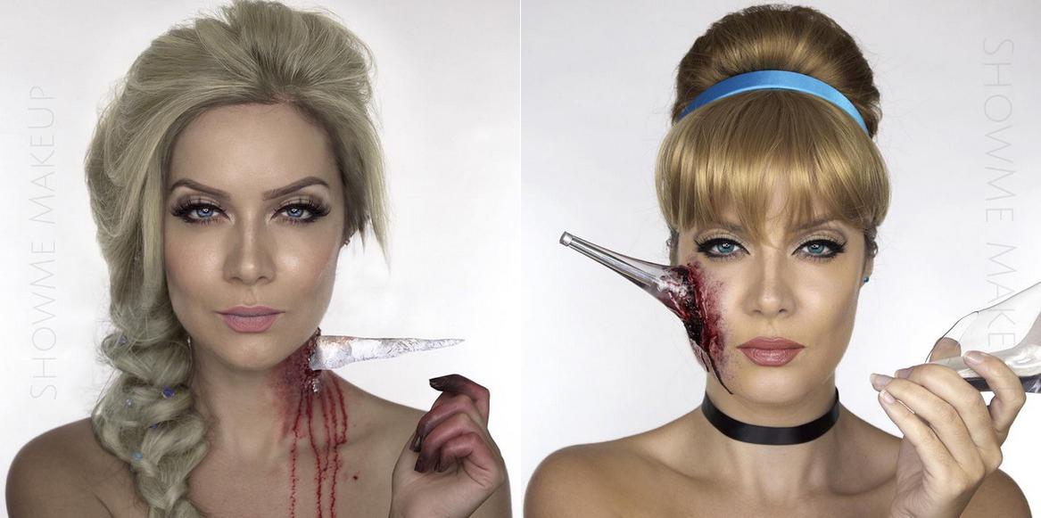 Estos Maquillajes De Princesa Disney Zombie Son La Mejor Opcion - Maquillaje-zombie-hombre
