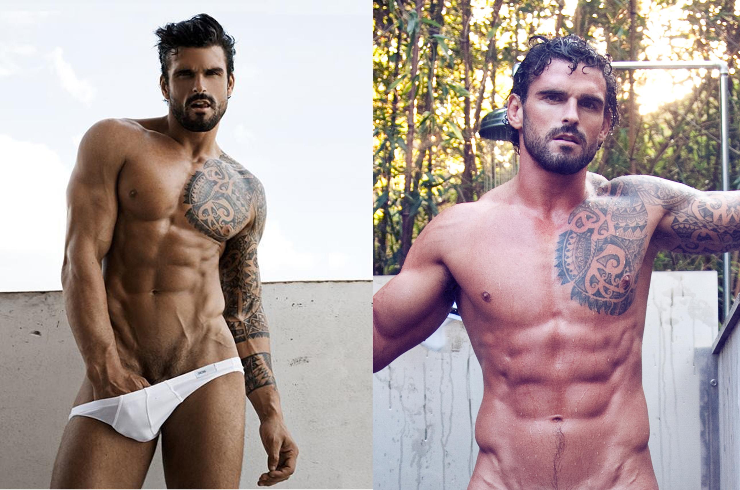 El jugador de rugby Stuart Reardon desnudo