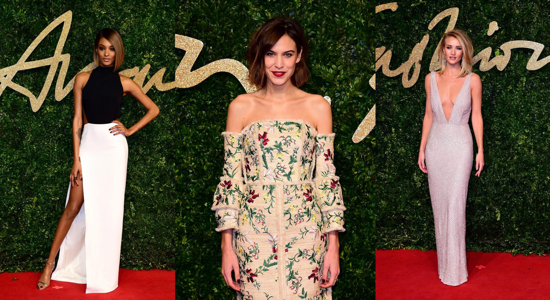 Los mejores looks de los British Fashion Awards 2015