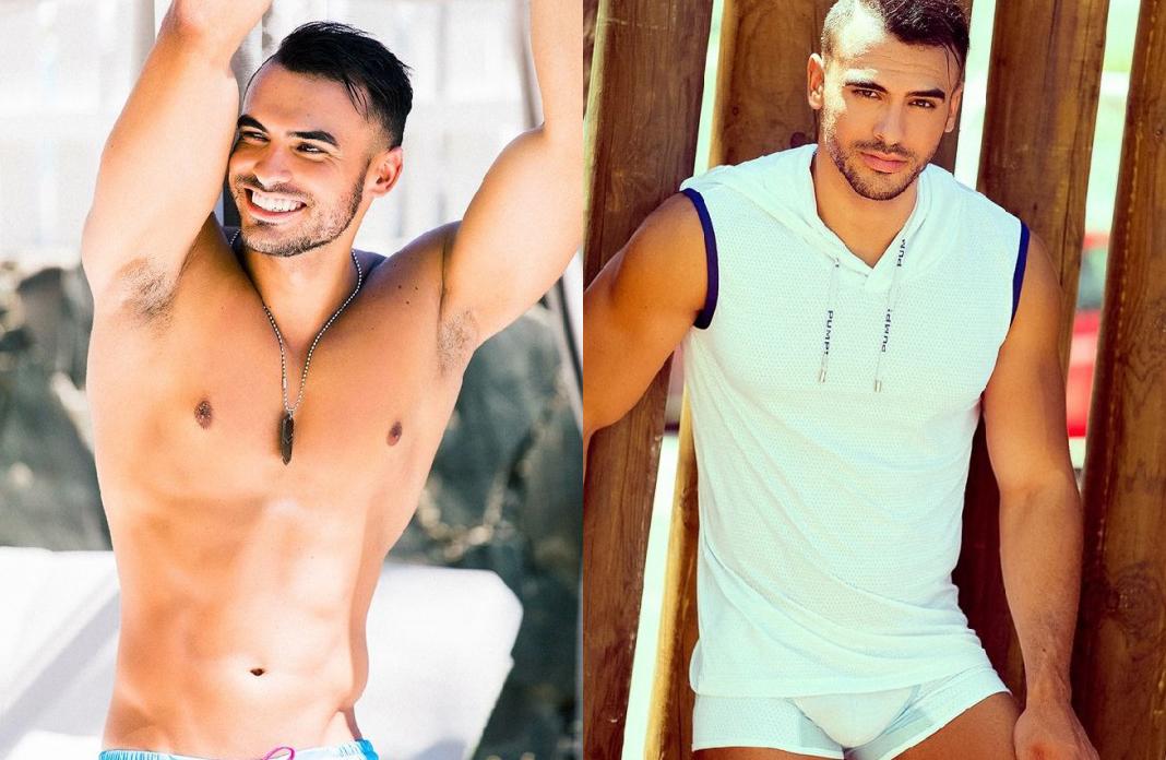 El canario Cristian Carreño desnudo