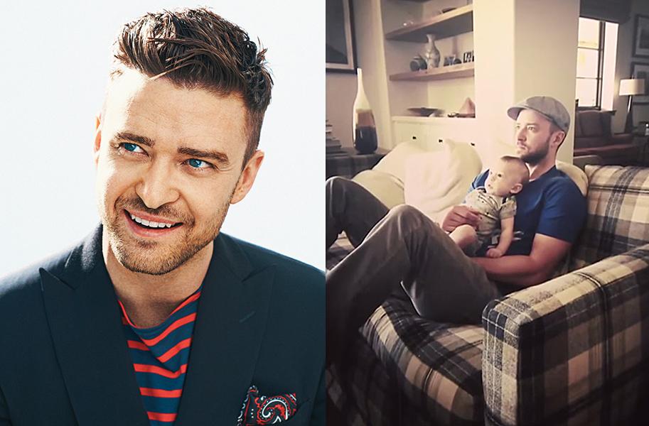 Justin Timberlake: premio al Padre Primerizo Más Sexy del Año
