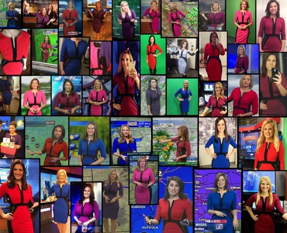 ¿Por qué todas las meteorólogas llevan el mismo vestido?