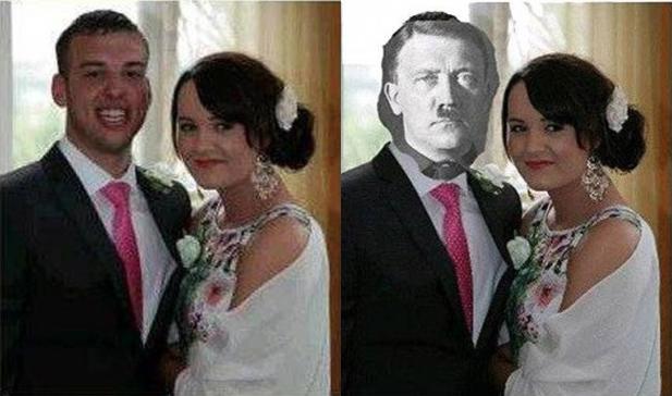 Esto es lo que pasa cuando pides ayuda en internet para arreglar tu foto de boda