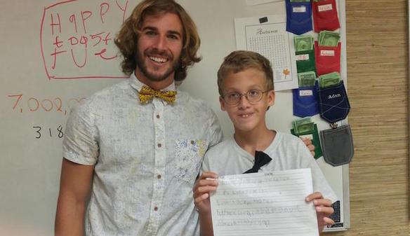 Lo que este profesor de educación especial hace en sus clases es maravilloso