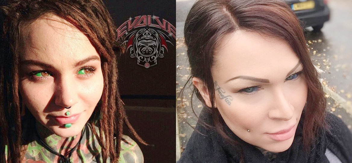 Tatuarse el globo ocular está de moda y da mucho miedo