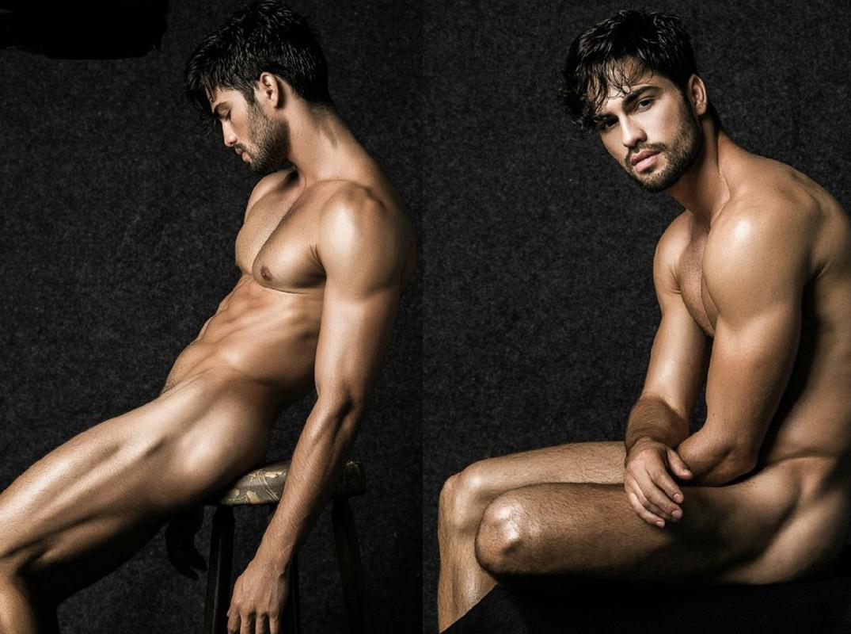 Welington Coelho desnudo