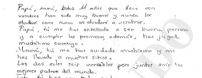 La sobrecogedora carta de un niño de 11 años antes de suicidarse