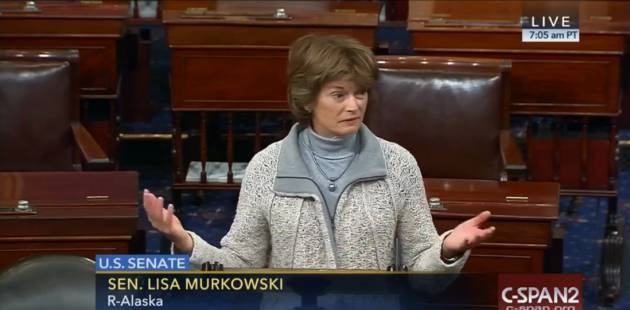 El día que al Senado de EEUU solo acudieron a trabajar mujeres