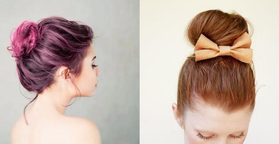 7 formas de hacer un peinado con moño