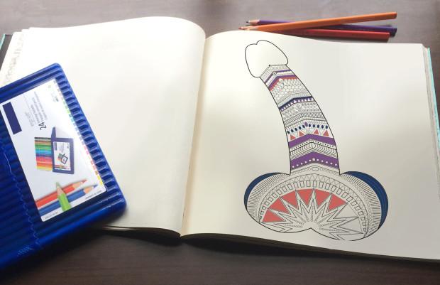 Por qué colorear penes es lo más relajante que puedes hacer ...