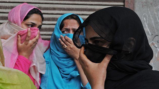 Proponen una ley en Pakistan que permite a los hombres pegar a sus mujeres