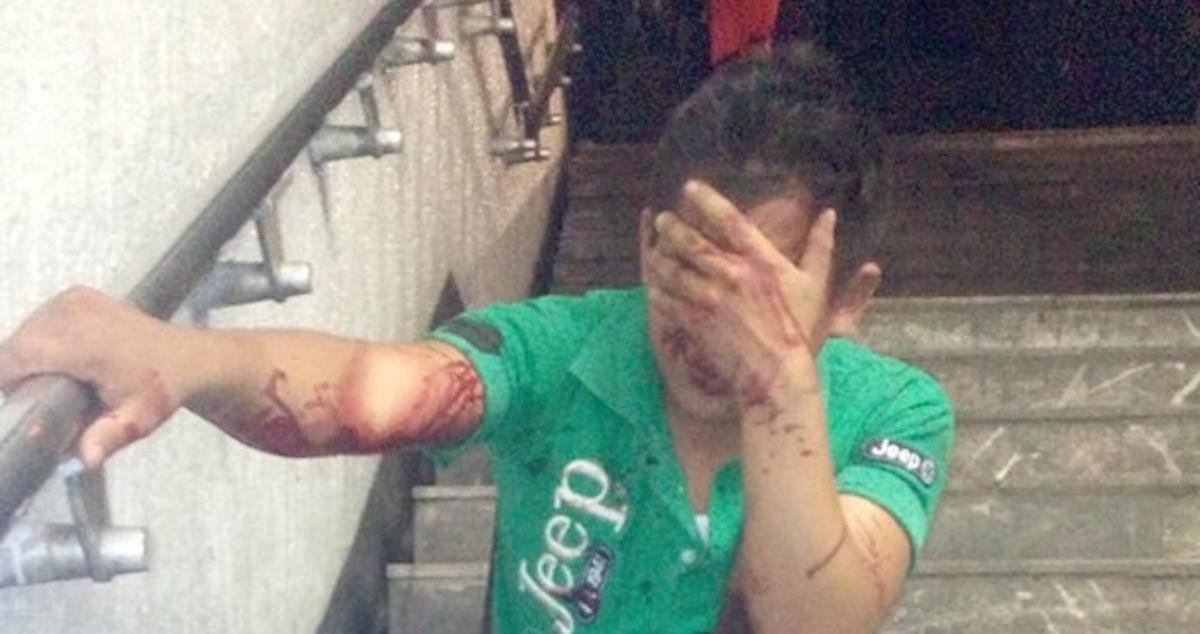 Esta mujer golpeó a su acosador hasta hacerlo llorar. Después, difundió este vídeo