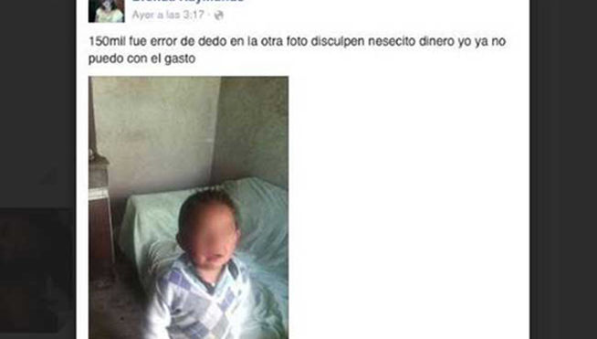 Facebook hijo