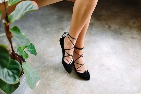 Por qué los lace up son los zapatos de la temporada