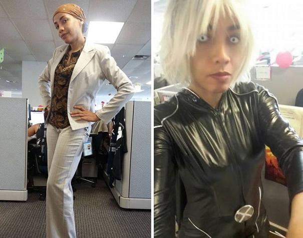 """Su jefa le llama """"poco profesional"""", así que decide ir disfrazada"""