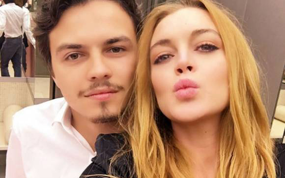 La actriz Lindsay Lohan asegura que su pareja ha intentado matarla