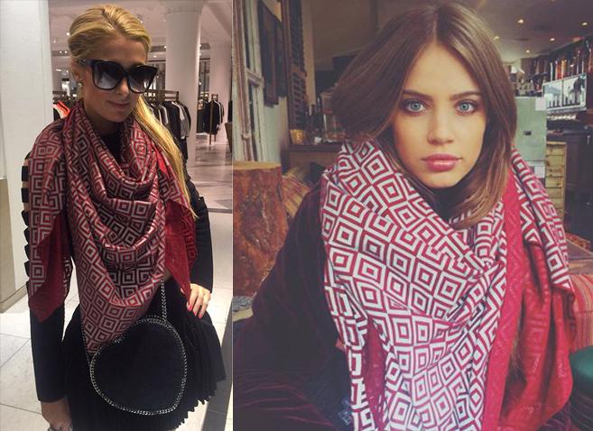 Pañuelo anti-paparazzis: la última moda entre los famosos