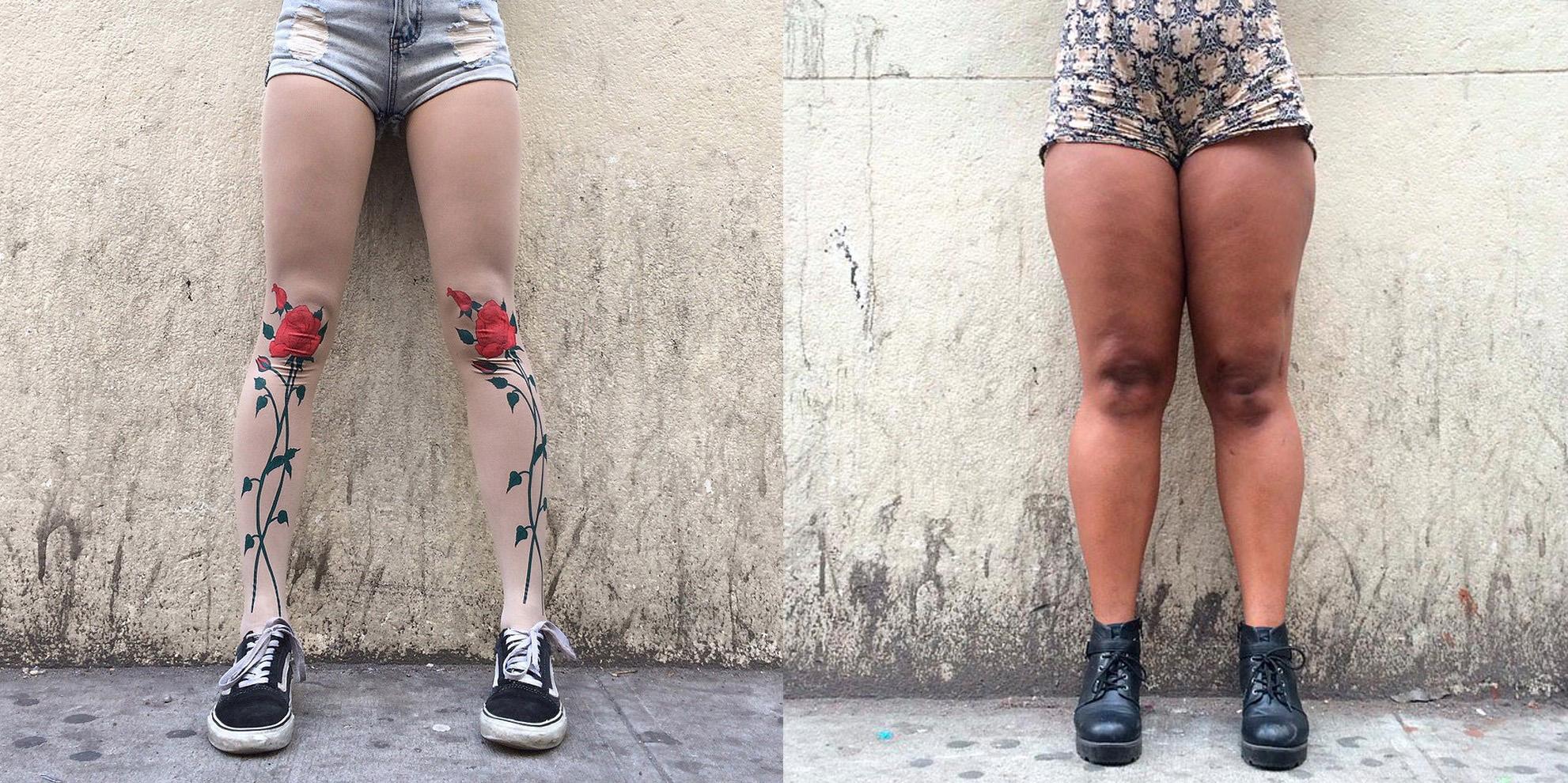 Estas piernas anónimas se han convertido en viral