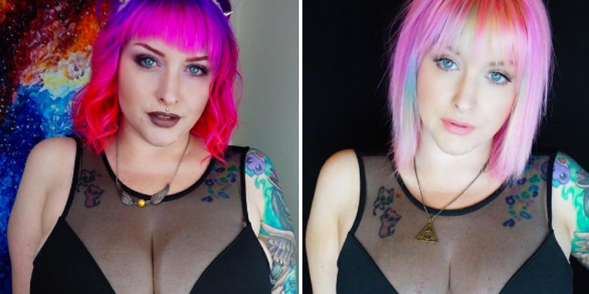 Esta youtuber contó al mundo por qué reducir su pecho le cambió la vida