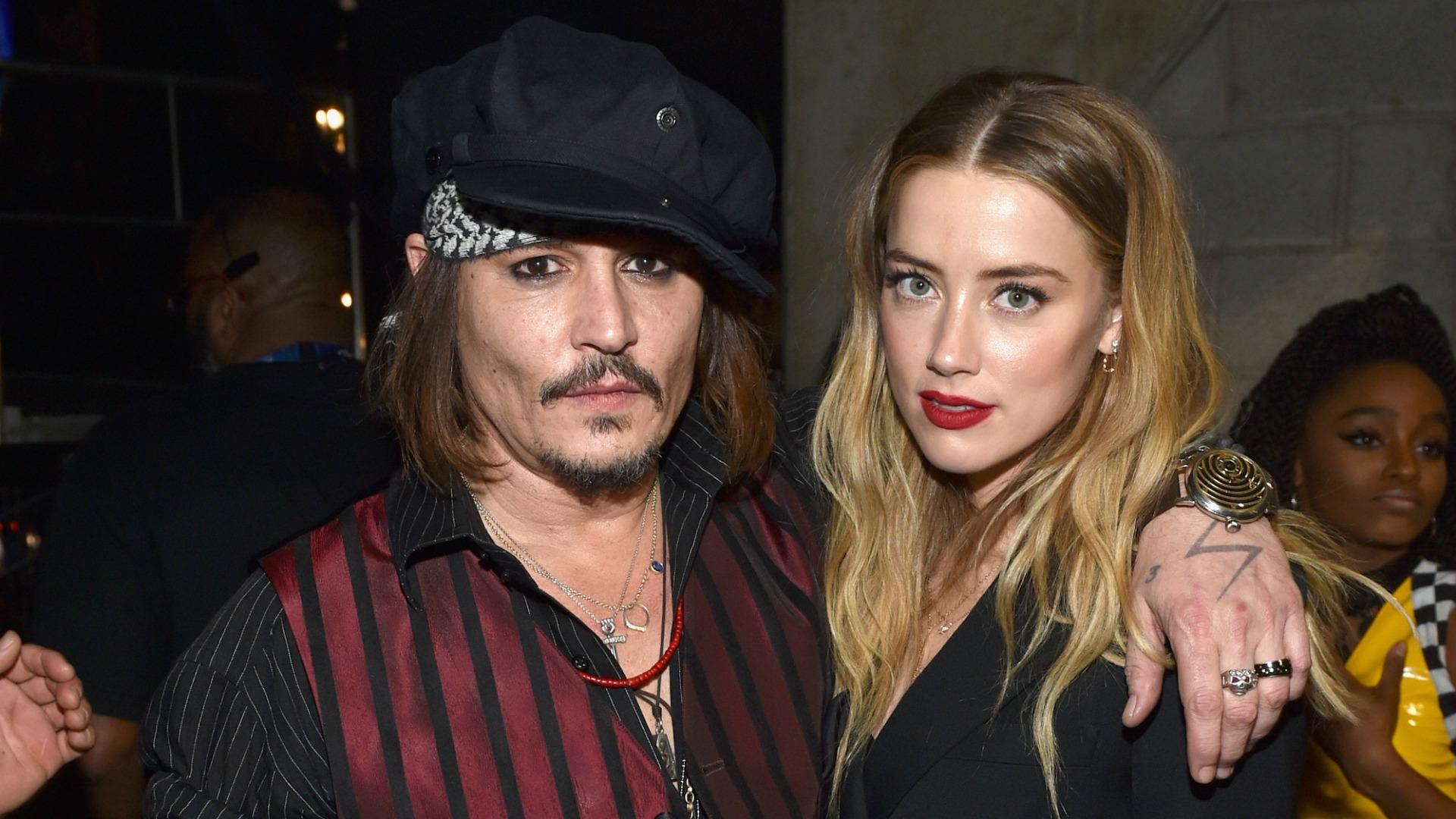 El vídeo que podría confirmar los malos tratos de Johnny Depp a Amber Heard