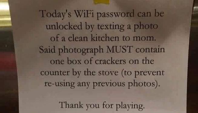 mensaje madre wifi