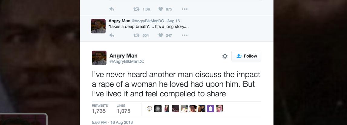 Un hombre cuenta a través de 40 tuits qué ocurrió el día que violaron a su novia