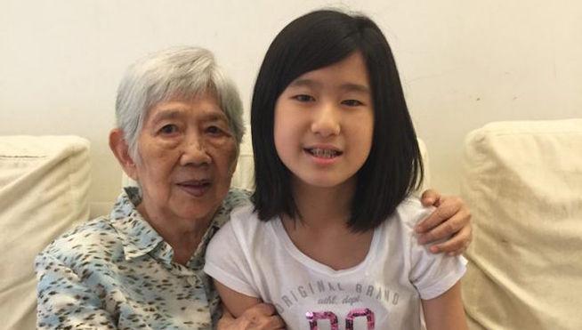 Esta niña ha creado una app para que su abuela con Alzheimer se acuerde de ella