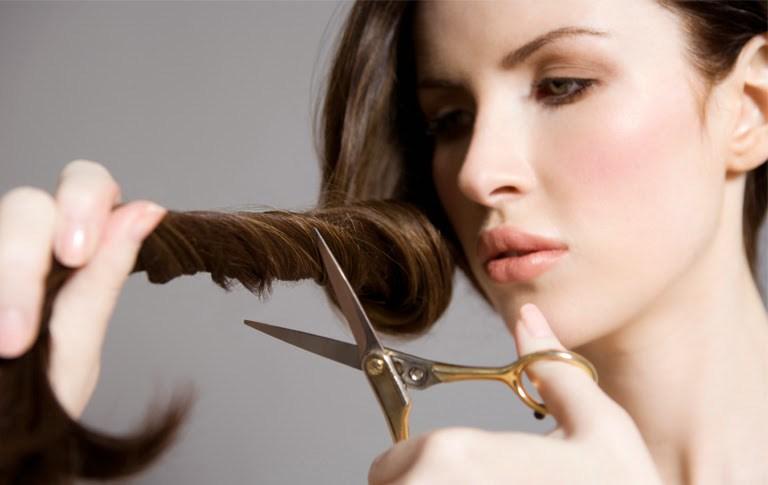 cortarte el pelo tu misma