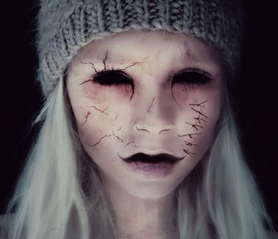 10 ideas de maquillaje para ser la más aterradora en Halloween