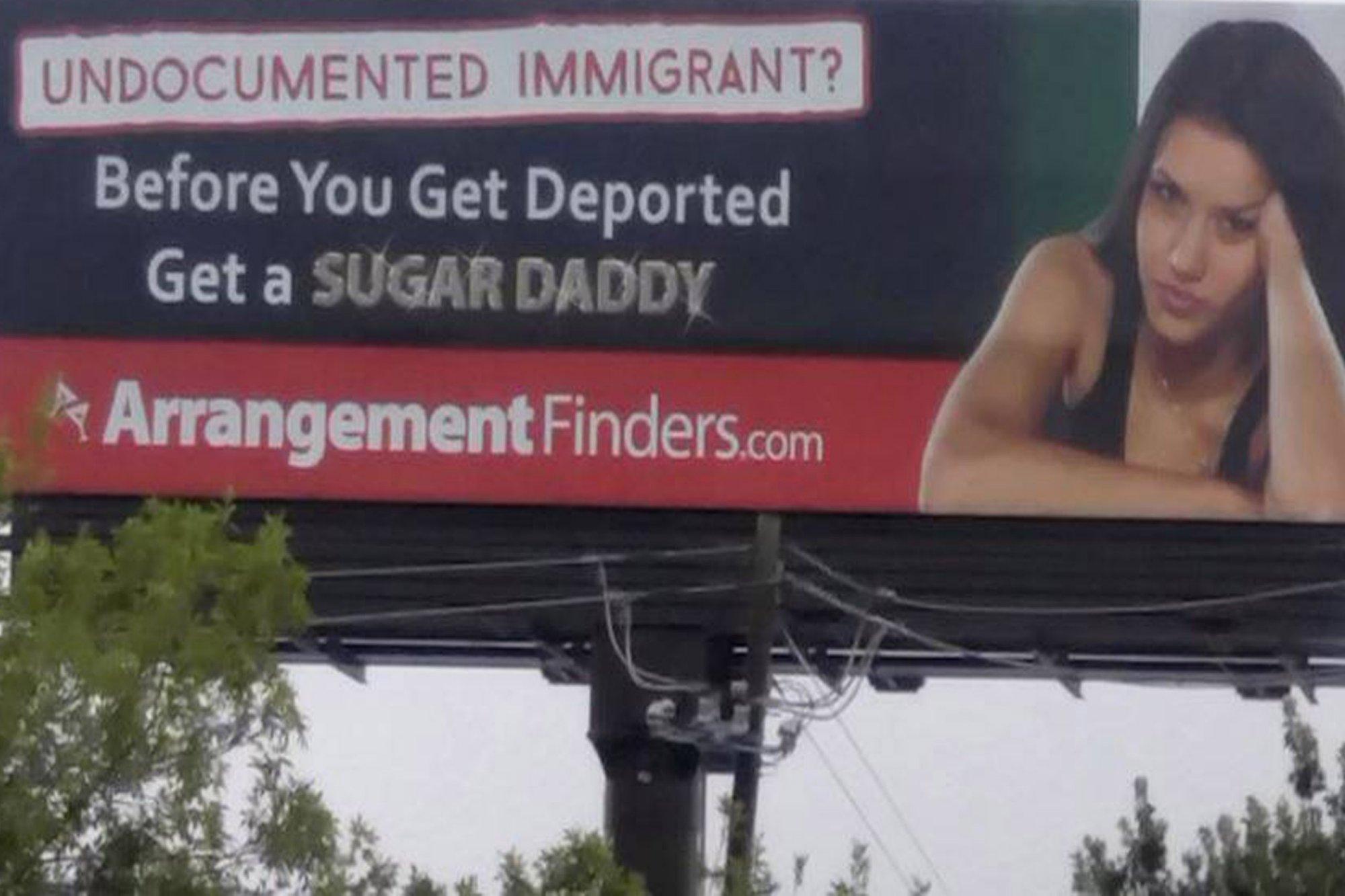 El indignante anuncio que anima a las mujeres 'sin papeles' a encontrar un 'sugar daddy'
