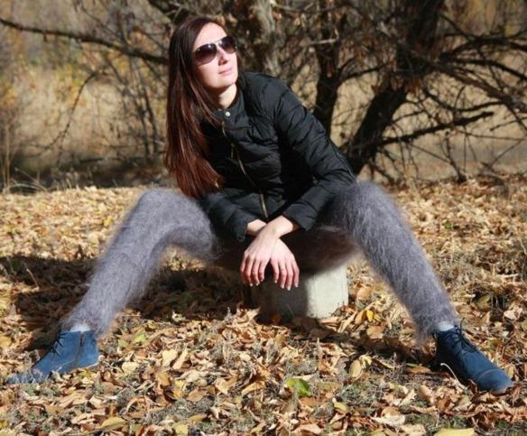 Leggins peludos rusos: la moda más extraña (y desagradable) del año