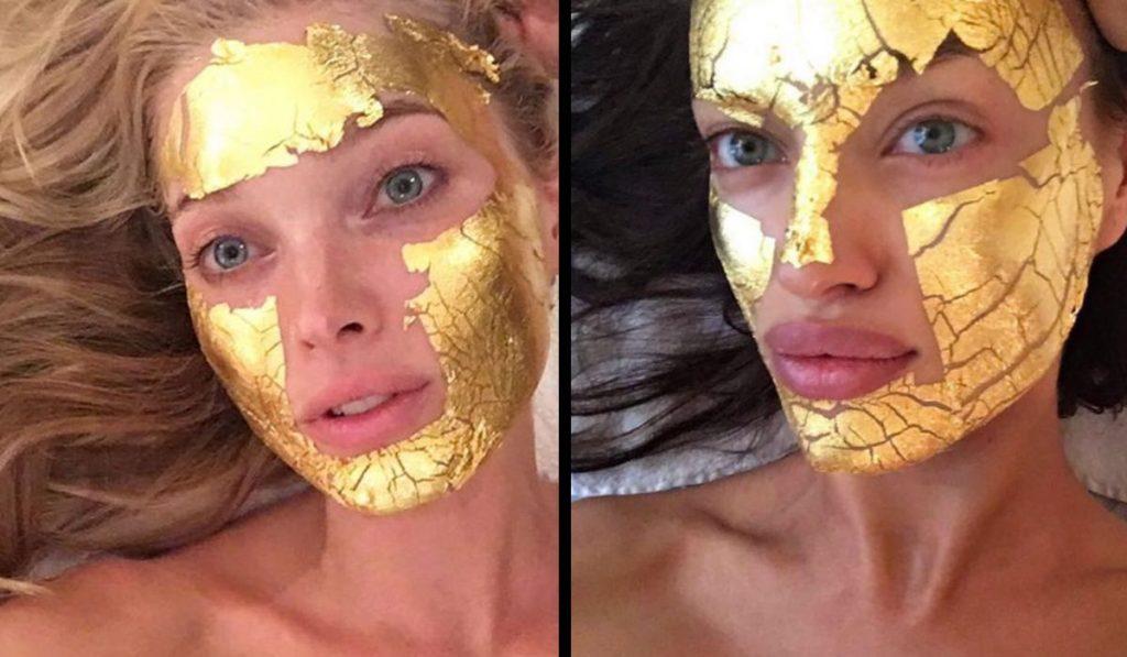 La mascarilla de oro de 24 quilates que solo unas pocas se pueden permitir