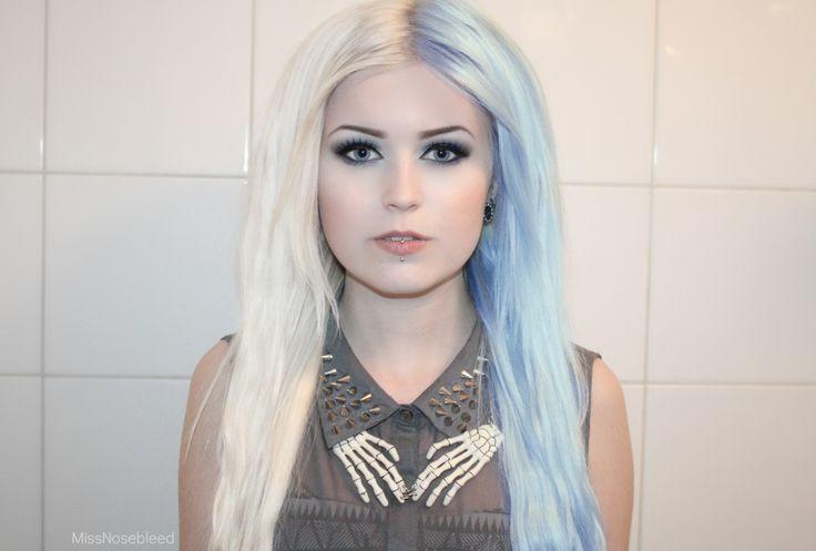 tendencia pelo de dos colores