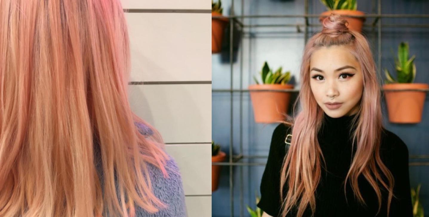 color de pelo blorange