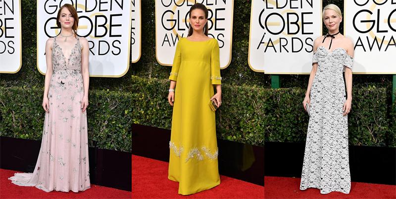 Los mejores looks en la alfombra roja de los Globos de Oro 2017