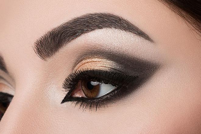 maquillaje cuenca del ojo