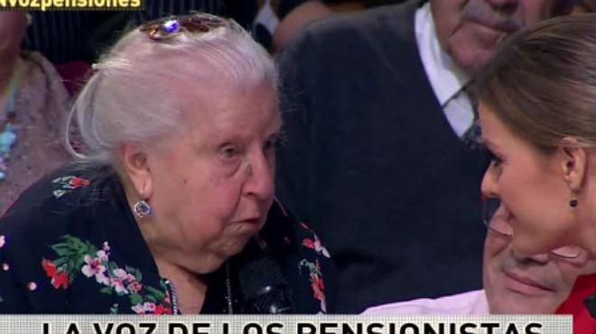 La lección espontánea de feminismo de Paquita, una mujer de 91 años